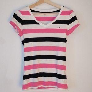 Tommy Hilfiger striped t shirt size small